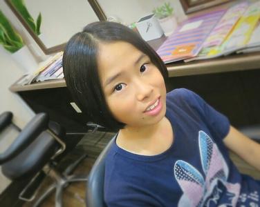 ボブの似合う女の子|Cut wa Coconi (交野市美容室・美容院)のヘアスタイル