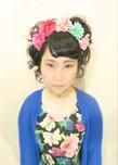 10代のパーティーやイベントのアップスタイル!|Cut wa Coconi (交野市美容室・美容院)のヘアスタイル