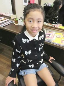 かわいいお子様カットとセット!|Cut wa Coconi (交野市美容室・美容院)のヘアスタイル