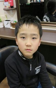 かわいい男の子のスッキリ短髪スタイル! Cut wa Coconi (交野市美容室・美容院)のヘアスタイル