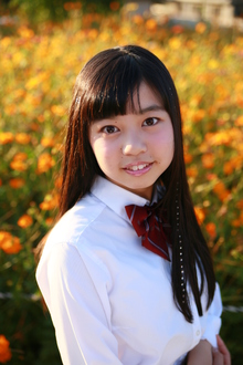 あまんの恋 10Th Love 交野の中学生シンガーソングライター桃香さんに参加してもらいました。|Cut wa Coconi (交野市美容室・美容院)のヘアスタイル