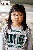 かわいいお子様カット!綺麗な髪で、眼鏡が似合ってるね〜