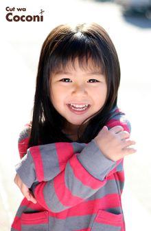 かわいいお子様カット!はじめてのカットの女の子〜|Cut wa Coconi (交野市美容室・美容院)のヘアスタイル