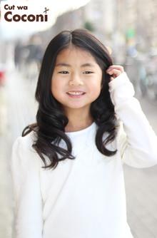 かわいいお子様カット!大人っぽいね〜|Cut wa Coconi (交野市美容室・美容院)のヘアスタイル