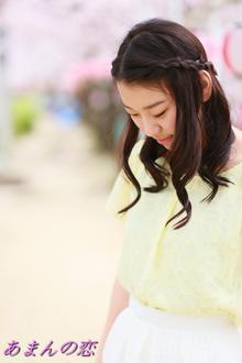 写真展「あまんの恋」16Th Loveは、免除川の桜 ハワイヤンカフェ ハレラニで、Mikiさんに参加して頂きました。|Cut wa Coconi (交野市美容室・美容院)のヘアスタイル