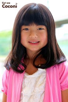 かわいいお子様カット!いつも、来てくれてありがとう〜笑顔が、いいね〜|Cut wa Coconi (交野市美容室・美容院)のヘアスタイル