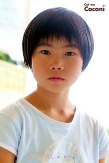 かわいいお子様カット!いつも、元気な女の子!!!|Cut wa Coconi (交野市美容室・美容院)のヘアスタイル