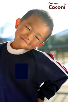 かわいいお子様カット!クリクリ〜かわいい男の子です〜|Cut wa Coconi (交野市美容室・美容院)のヘアスタイル