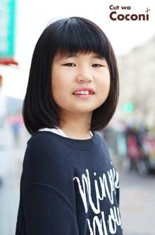 かわいいお子様カット〜綺麗な髪の女の子!!!|Cut wa Coconi (交野市美容室・美容院)のヘアスタイル
