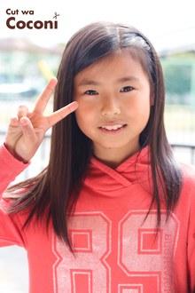 かわいいお子様カット〜サラサラで綺麗な髪が、よく似合ってるね!!!|Cut wa Coconi (交野市美容室・美容院)のヘアスタイル