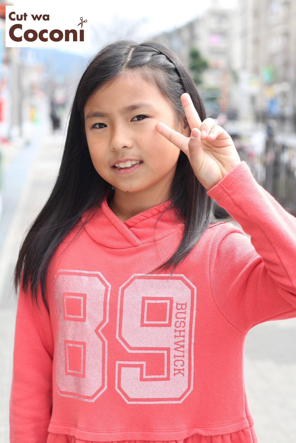 かわいいお子様カット〜サラサラで綺麗な髪が、よく似合ってるね!!!