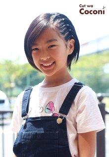 かわいいお子様セット〜めっちゃ、お洒落やねぇ〜☆|Cut wa Coconi (交野市美容室・美容院)のヘアスタイル