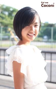 かわいいお子様カット!いつも、来てくれてありがとう☆|Cut wa Coconi (交野市美容室・美容院)のヘアスタイル