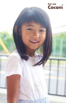 かわいいお子様カット!笑顔で楽しくカットできましたね☆|Cut wa Coconi (交野市美容室・美容院)のヘアスタイル