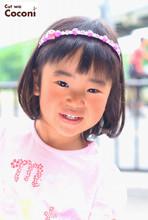 かわいいお子様カット!肩上のボブスタイル〜☆|Cut wa Coconi (交野市美容室・美容院)のキッズヘアスタイル