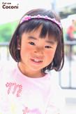 かわいいお子様カット!肩上のボブスタイル〜☆|Cut wa Coconi (交野市美容室・美容院)のヘアスタイル