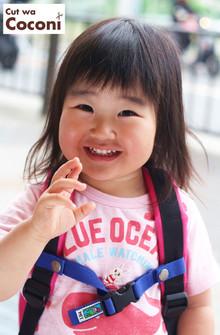 かわいいお子様カット!前髪カット☆|Cut wa Coconi (交野市美容室・美容院)のヘアスタイル