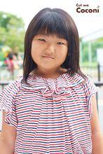 かわいいお子様カット!めっちゃ、髪 軽くなっていい感じやね☆|Cut wa Coconi (交野市美容室・美容院)のキッズヘアスタイル