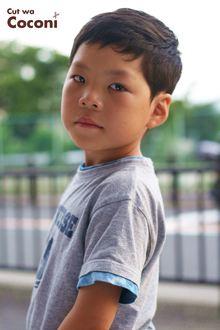 かわいいお子様カット!いつも、来てくれてる男の子☆|Cut wa Coconi (交野市美容室・美容院)のヘアスタイル