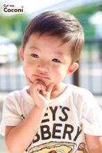 かわいいお子様カット!スッキリと夏らしくカット〜☆|Cut wa Coconi (交野市美容室・美容院)のキッズヘアスタイル