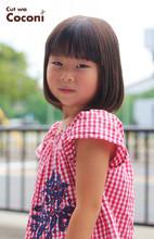 かわいいお子様カット〜!肩くらいのボブスタイル☆|Cut wa Coconi (交野市美容室・美容院)のヘアスタイル