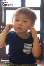 かわいいお子様カット!綺麗な茶色のナチュラルな髪色の男の子カット☆|Cut wa Coconi (交野市美容室・美容院)のヘアスタイル