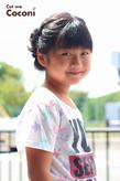 かわいいお子様カット!夏祭りのヘアスタイル☆|Cut wa Coconi (交野市美容室・美容院)のヘアスタイル