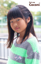 かわいいお子様カット!いつも、ご来店ありがとう〜サイドの編み込みいい感じですね☆|Cut wa Coconi (交野市美容室・美容院) Yumiko Sakaiのキッズヘアスタイル