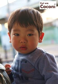 かわいいお子様カット!小さな可愛いお客様〜カットよくできました〜☆|Cut wa Coconi (交野市美容室・美容院)のヘアスタイル