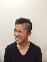 坊主頭からの脱却|CUT HOME SUGINOのヘアスタイル