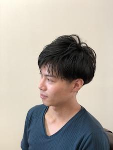 ツーブロック メンズ ショートスタイル|CUT HOME SUGINOのヘアスタイル