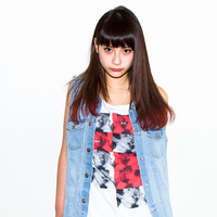 グラデーションカラー☆チェリーレッド/ストレート