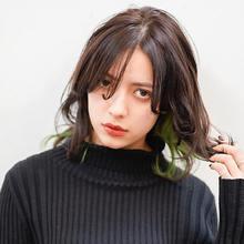 アクセサリーカラー☆デザインカラー|DaB OMOTESANDOのヘアスタイル