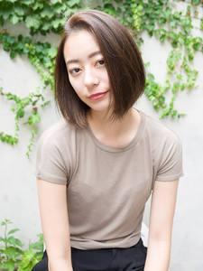 ハイ&ローライトの3Dカラー☆シナモンベージュ|DaB OMOTESANDOのヘアスタイル