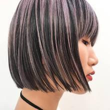 透ける2色のmix color! / 切りっぱなしボブ|DaB OMOTESANDOのヘアスタイル