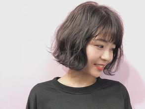 ハイライトMIXで☆無造作カールデザインカラー|DaB OMOTESANDOのヘアスタイル