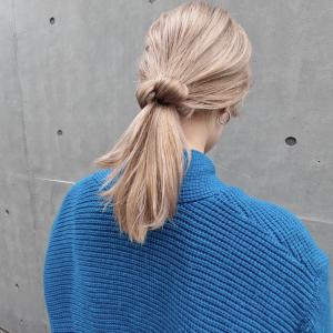 ベージュカラー×ラフアレンジ|DaB OMOTESANDOのヘアスタイル