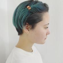 クリップで簡単アレンジ|DaB OMOTESANDOのヘアスタイル