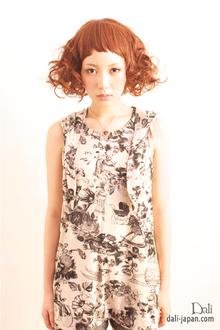 お人形さんのようなミディアムヘアー|Dali  梅田 ダリ梅田店のヘアスタイル