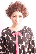 フェミニンショート|Dali  梅田 ダリ梅田店のヘアスタイル