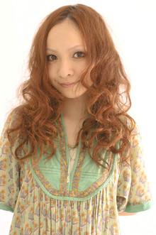 強めのリッジで可愛くお洒落に。|Dali  梅田 ダリ梅田店のヘアスタイル