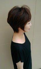 シャギーなグラボブ|Deja−Vuのヘアスタイル