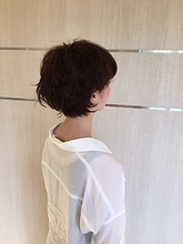 ゆるパーマショート|Deja−Vuのヘアスタイル