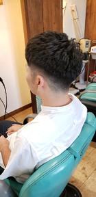 形状記憶パーマ|美容室 ドルチェ 浅川店 須崎 友介のメンズヘアスタイル