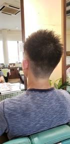 ツンツンショート|美容室 ドルチェ 浅川店 須崎 友介のメンズヘアスタイル