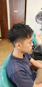 フェードカット|美容室 ドルチェ 浅川店のヘアスタイル