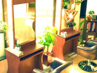 hair salon 虹
