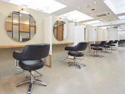 hair salon haku GINZA