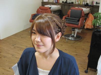 かんたんヘアアレンジ!!|eternity hairのヘアスタイル