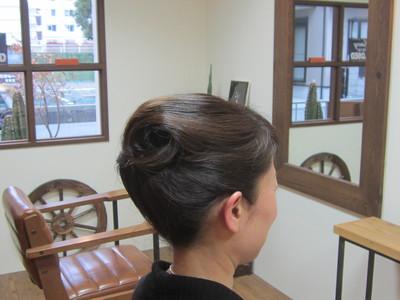 落ち着いたヘアアップ|eternity hairのヘアスタイル